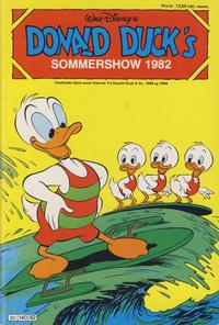 Cover Thumbnail for Donald Ducks Show (Hjemmet / Egmont, 1957 series) #[41] - Sommershow 1982