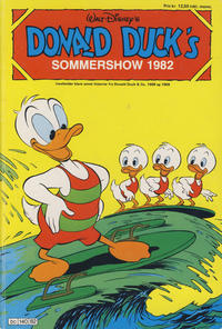 Cover Thumbnail for Donald Duck's Show (Hjemmet, 1957 series) #[41] - Sommershow 1982