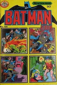Cover Thumbnail for Batman Album (K. G. Murray, 1976 series) #49