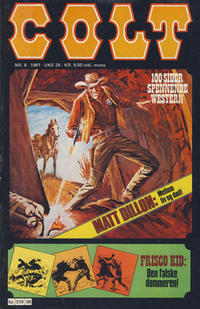 Cover Thumbnail for Colt (Semic, 1978 series) #6/1981
