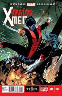 Cover Thumbnail for Amazing X-Men (Marvel, 2014 series) #1