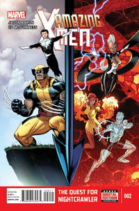 Cover Thumbnail for Amazing X-Men (Marvel, 2014 series) #2