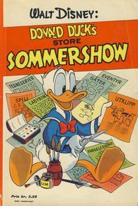 Cover Thumbnail for Donald Ducks Show (Hjemmet / Egmont, 1957 series) #[2] - Sommershow [1958]