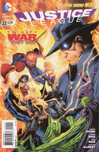 Cover Thumbnail for Justice League (DC, 2011 series) #22 [Brett Booth / Norm Rapmund Cover]