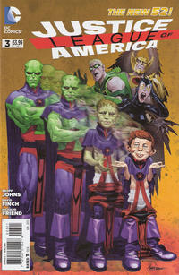 Cover Thumbnail for Justice League of America (DC, 2013 series) #3 [MAD Magazine Cover]