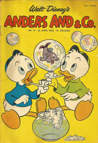Cover Thumbnail for Anders And & Co. (Egmont, 1949 series) #15/1962
