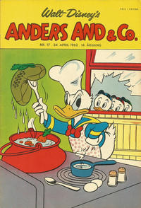 Cover Thumbnail for Anders And & Co. (Egmont, 1949 series) #17/1962