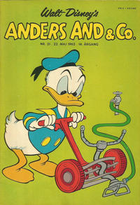 Cover Thumbnail for Anders And & Co. (Egmont, 1949 series) #21/1962