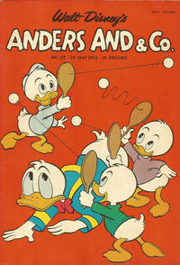 Cover Thumbnail for Anders And & Co. (Egmont, 1949 series) #22/1962