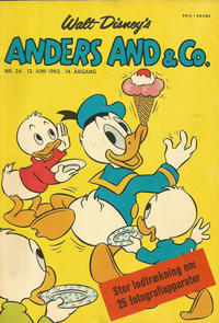 Cover Thumbnail for Anders And & Co. (Egmont, 1949 series) #24/1962