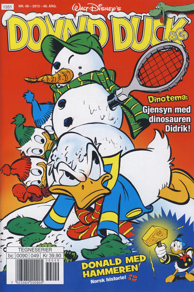 Cover for Donald Duck & Co (Hjemmet / Egmont, 1948 series) #49/2013