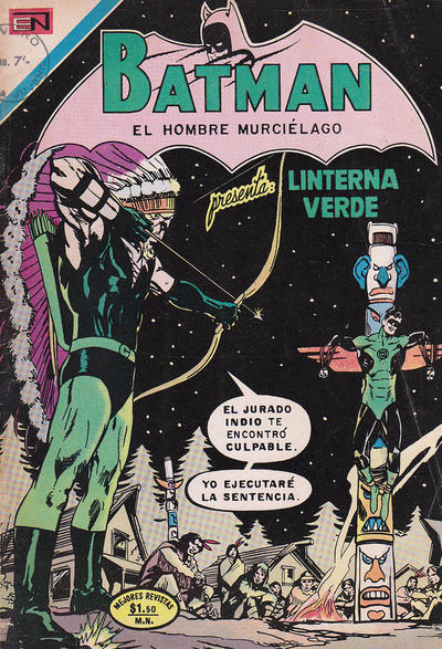 Cover for Batman (Editorial Novaro, 1954 series) #614
