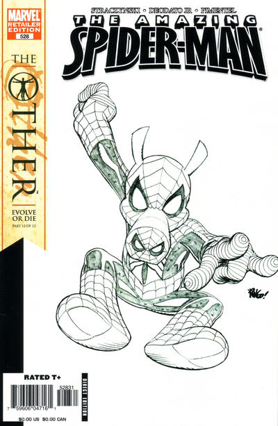 Cover for The Amazing Spider-Man (Marvel, 1999 series) #528 [Mike Wieringo Spider-Ham variant]