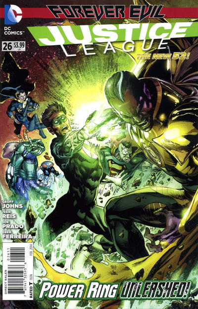 Cover for Justice League (DC, 2011 series) #26