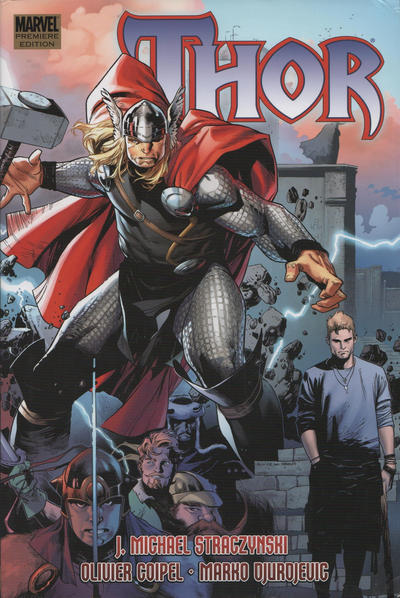 Cover for Thor by J. Michael Straczynski [HC] (Marvel, 2008 series) #2