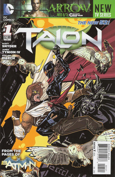 Cover for Talon (DC, 2012 series) #1 [Guillem March Cover]