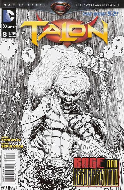 Cover for Talon (DC, 2012 series) #8