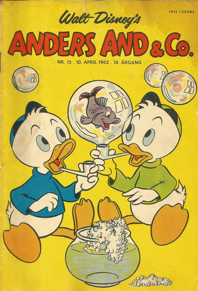 Cover for Anders And & Co. (Egmont, 1949 series) #15/1962