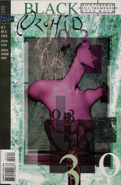 Cover for Black Orchid (DC, 1993 series) #3