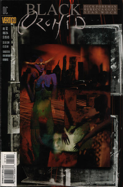 Cover for Black Orchid (DC, 1993 series) #12