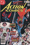 Cover Thumbnail for Action Comics (1938 series) #548 [Newsstand]