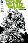Cover for Forever Evil (DC, 2013 series) #3 [David Finch Black & White Cover]