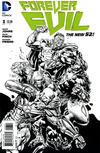 Cover for Forever Evil (DC, 2013 series) #3 [David Finch / Richard Friend Black & White Cover]