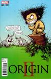 Cover for Origin II (Marvel, 2014 series) #1 [Marvel Babies Variant by Skottie Young]