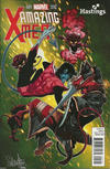 Cover Thumbnail for Amazing X-Men (2014 series) #1 [Hastings Exclusive Variant by Salvador Larroca]