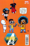 Cover for Mighty Avengers (Marvel, 2013 series) #1 [Marvel Babies Variant by Skottie Young]