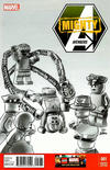 Cover for Mighty Avengers (Marvel, 2013 series) #1 [Lego Variant Sketch Cover by Leonel Castellani]