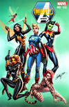 Cover for Mighty Avengers (Marvel, 2013 series) #2 [Cosplay Variant by J. Scott Campbell]