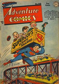 Cover Thumbnail for Adventure Comics (National Comics Publications of Canada Ltd, 1948 series) #130