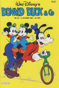 Cover Thumbnail for Donald Duck & Co (Hjemmet / Egmont, 1948 series) #40/1982