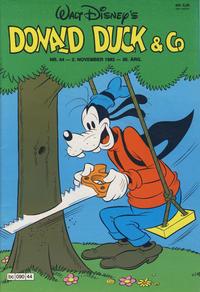 Cover Thumbnail for Donald Duck & Co (Hjemmet / Egmont, 1948 series) #44/1982