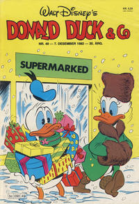 Cover Thumbnail for Donald Duck & Co (Hjemmet / Egmont, 1948 series) #49/1982