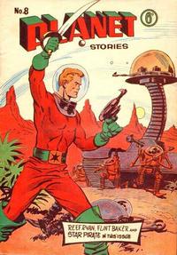 Cover Thumbnail for Planet Stories (Atlas Publishing, 1961 series) #8