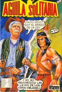 Cover Thumbnail for Aguila Solitaria (Editora Cinco, 1976 ? series) #279