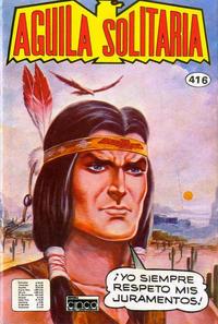 Cover Thumbnail for Aguila Solitaria (Editora Cinco, 1976 ? series) #416