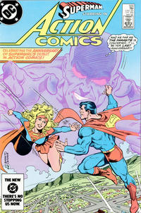 Cover Thumbnail for Action Comics (DC, 1938 series) #555 [Direct Edition]