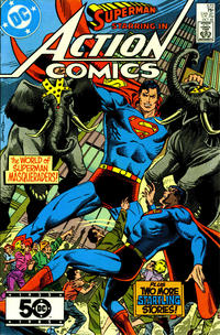 Cover Thumbnail for Action Comics (DC, 1938 series) #572 [Direct Sales]