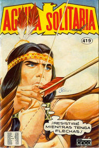Cover Thumbnail for Aguila Solitaria (Editora Cinco, 1976 ? series) #419