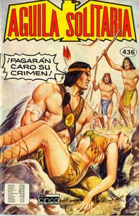 Cover Thumbnail for Aguila Solitaria (Editora Cinco, 1976 ? series) #436