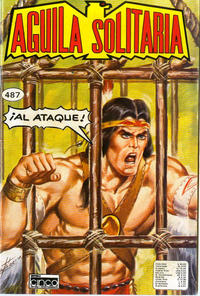 Cover Thumbnail for Aguila Solitaria (Editora Cinco, 1976 ? series) #487