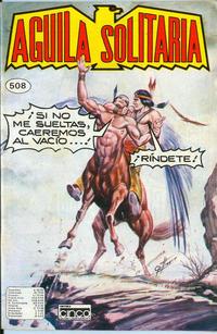 Cover Thumbnail for Aguila Solitaria (Editora Cinco, 1976 ? series) #508