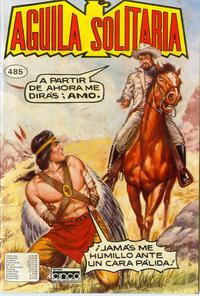 Cover Thumbnail for Aguila Solitaria (Editora Cinco, 1976 ? series) #485