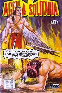 Cover Thumbnail for Aguila Solitaria (Editora Cinco, 1976 ? series) #423
