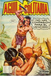 Cover Thumbnail for Aguila Solitaria (Editora Cinco, 1976 ? series) #562