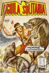 Cover Thumbnail for Aguila Solitaria (Editora Cinco, 1976 ? series) #437