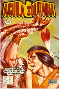 Cover Thumbnail for Aguila Solitaria (Editora Cinco, 1976 ? series) #534